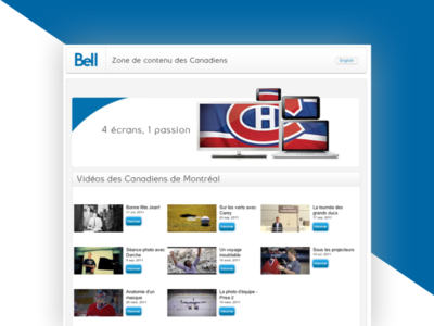 Bell X Montreal Canadiens