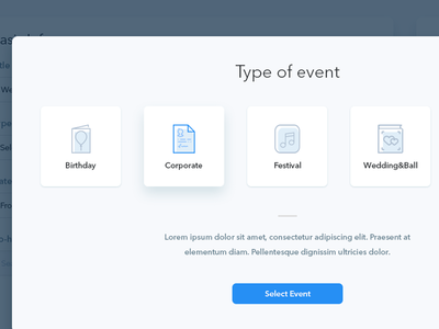 Select flat icons ui select