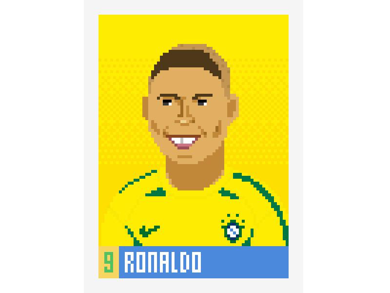 2002 Ronaldo By Fintan Hurl On Dribbble