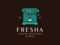 Fresh Coffee Logo