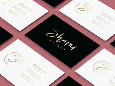 Sharai Beauty Business Card