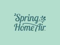 Spring Home Air Logo