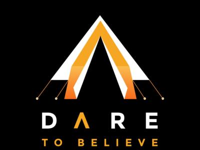 Dare To Believe - Black Tee