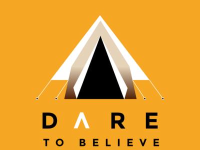Dare to Believe - Orange Tee 2