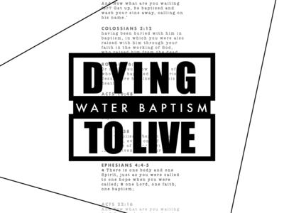 Water Baptism - White
