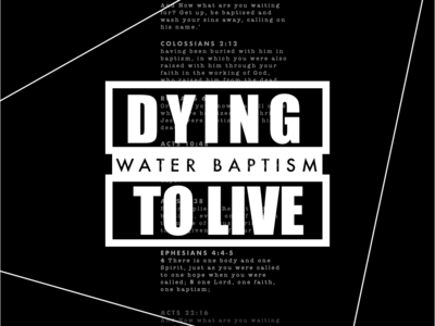 Water Baptism - Black