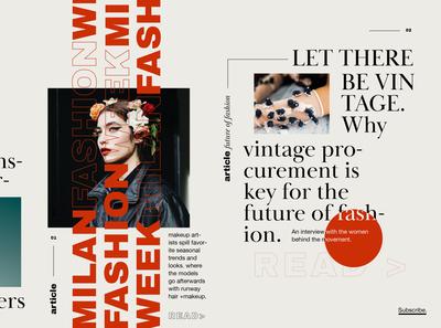 Website Design Layout - FSHN FWRD