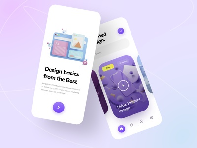 Tutor mobile app color webdesign animation tutorial illustration clean ui design userinterface minimal app design uiux