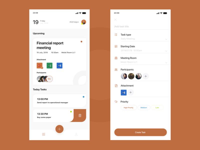 Tasker ios app uxdesign productivity to do app task management task manager