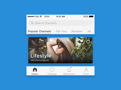 iOS App search icons filtering app ios