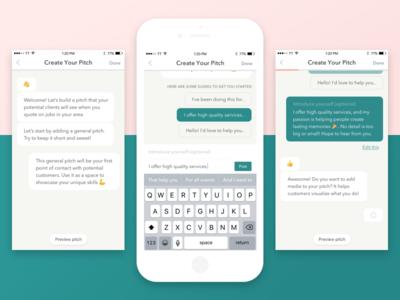 Chatbot 💛 💬 emoji help predictive friendly ios chat chatbot