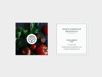 North American Produce Company - Business Cards