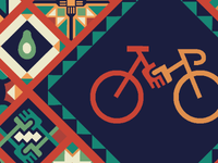 Bikes Across Borders (student project) poster detail