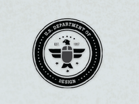 US Dept of Design (icon for a student project)