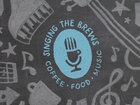 Singing the Brews logo (student project)