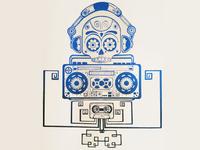 Ancient Robotic Rhythm