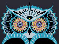 Kaleidoscope Owl
