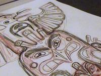 Angry Birds Totem Pole Sketch