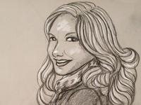 Portrait Sketch - Samantha