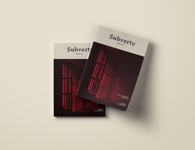Subverty - Issue 2018 (Booklet Lookbook)