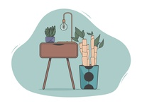 Cozy illustration