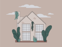 A little house illustration