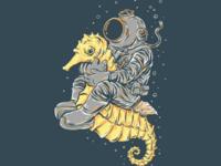 Sea Horse Rider