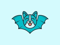 Bat creative logo