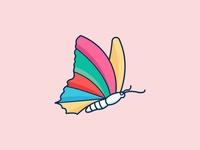 butterfly creative logo