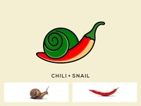 CREATIVE CHILI SNAIL LOGO