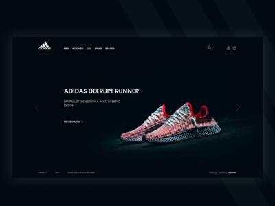 Adidas Redesign Web #2
