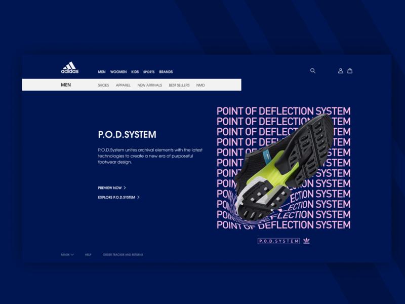 Adidas Redesign Web #3 web ux ux designer ui ui ux designer shop design shop redesign concept redesign ecomerce design adidas pod adidas originals adidas