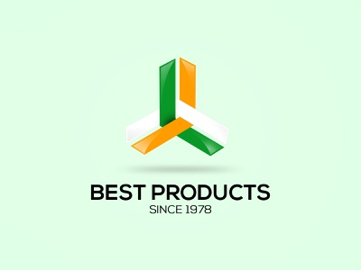 Best Products Logo Design graphic industry identity brand branding concept logo vector adobe design