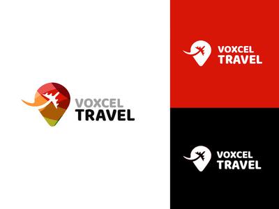 Voxcel Travel Logo