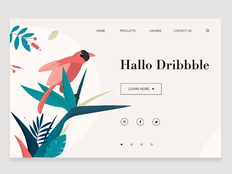 Web Design web illustration