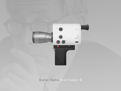 Dieter Rams' Nizo Super-8 camera