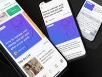 Explore Articles concept