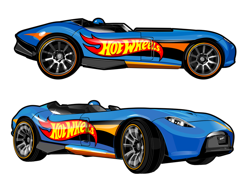Hotwheels Cars Cliparts: Vector Cars For Hot Wheels By Konstantin Shalev On Dribbble