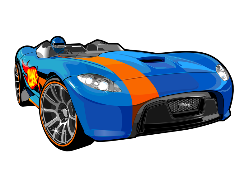 Hotwheels Cars Cliparts: Vector Cars For Hot Wheels By Konstantin Shalev
