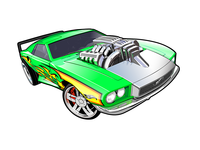 Vector cars for Hot wheels