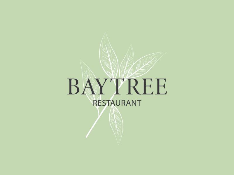 BayTree Logo restaurant re-brand design illustration branding logo