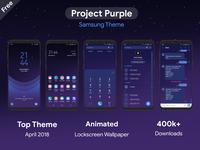 Project Purple | Samsung Theme
