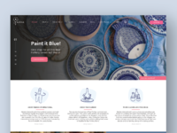 Neerja Blue Pottery- Landing Page
