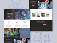 Neerja Blue Pottery Landing Page