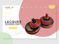 Lacquer Craft Landing Page