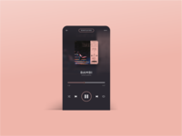 Daily Ui Challenge 006   Music Player 2