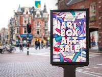 Artbox Artsale Campaign Poster