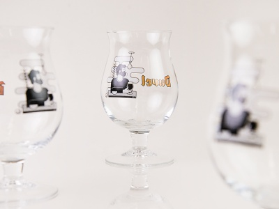 Duvel Collection II design creative drawing brand branding concept storytelling beer glass glass cheers limited edition product design 3d flatdesign graphic design vector illustrator artwork illustration dribbble