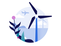 Schiphol Airport icon design: Sustainable