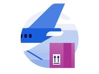 Schiphol Airport icon design: Cargo